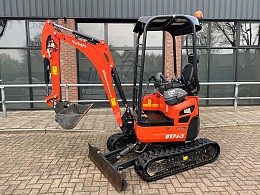 2018 Kubota U17-3 Alpha Demo